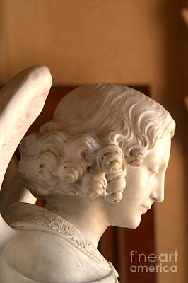 Photograph - Angelic Profile At St. Peter And Paul Catholic Church In San Franciso  by Michael Hoard