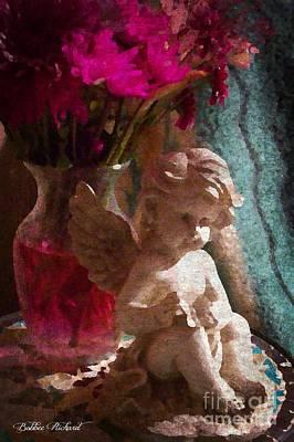 Photograph - Angelic Vintage Art by Bobbee Rickard