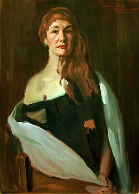 Painting - Angelica Morales by Alejandro Cabeza