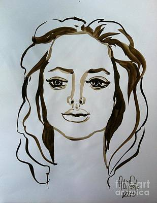 Painting - Angelina by Alessandra Di Noto