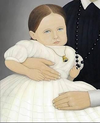 Republic Of Texas Painting - Angelina Dickinson by Mark Barnett