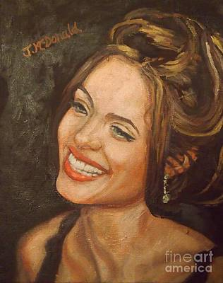 Painting - Angelina by Janet McDonald