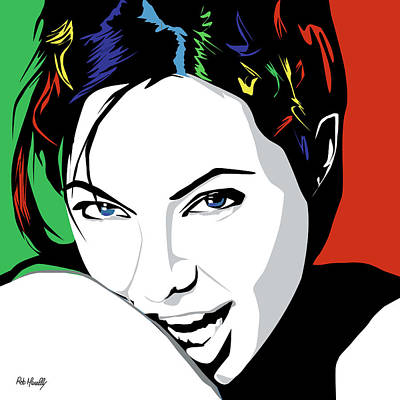 Angelina Jolie Original by Roby Marelly