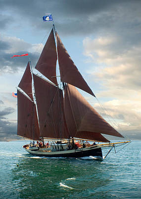 Windjammer Photograph - Angelique by Fred LeBlanc