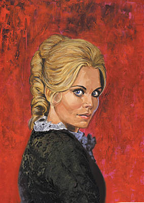 Portraits Painting - Angelique by Harold Shull