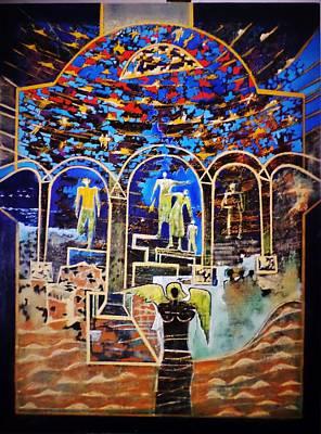 Painting - Angelo by Adalardo Nunciato  Santiago