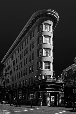 Photograph - Angelo Calori Building by Rod Sterling
