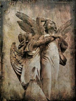 Photograph - Angels 19 by Maria Huntley