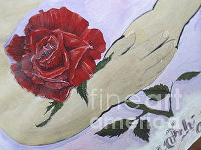 Painting - Angels And Roses by Talisa Hartley