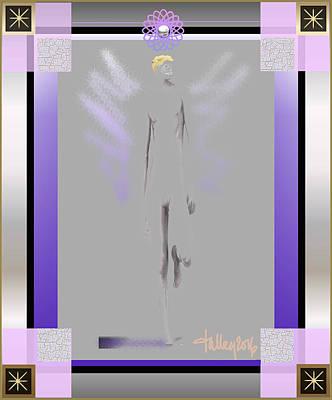 Digital Art - Angels - Archangel Michael by Larry Talley