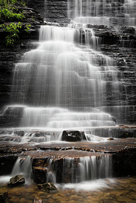 Photograph - Angels At The Waterfall by Debra and Dave Vanderlaan
