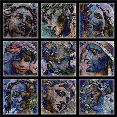 Digital Art - Angels by Barbara Berney