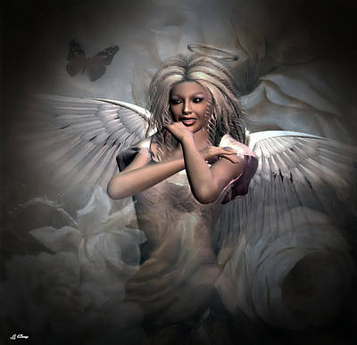 Angels Bliss Art Print