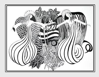 Religious Art Mixed Media - Angels by Cheryl Paolini