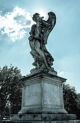 Photograph - Angels From Rome - 3 by Andrea Mazzocchetti