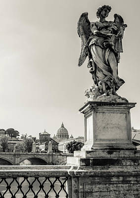 Religion Photograph - Angels From Rome by Andrea Mazzocchetti