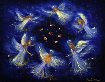 Painting - Angels by Gina De Gorna