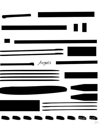 Mixed Media - Angels by Jessica Eli