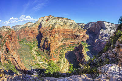 Photograph - Angel's Landing Hike by Spencer Baugh