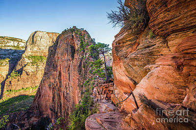 Photograph - Angels Landing by JR Photography