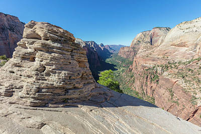 Photograph - Angels Landing The Rock by John McGraw