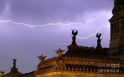 Angels Of Lightning Art Print