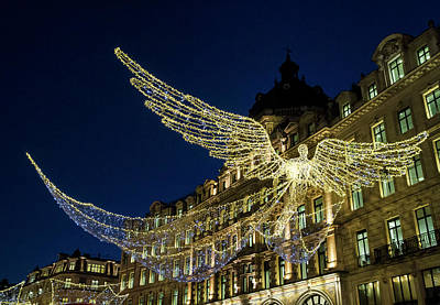 Photograph - Angels Of Regent Street 1 by Shirley Mitchell