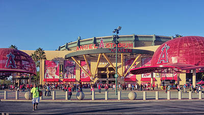 Photograph - Angels Stadium by Jason Butts