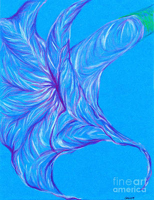Art Print featuring the photograph Angel's Trumpet by Kim Sy Ok