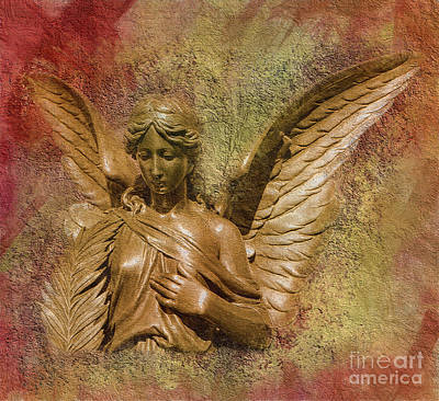 Digital Art - Angel's Vow 2015 by Kathryn Strick