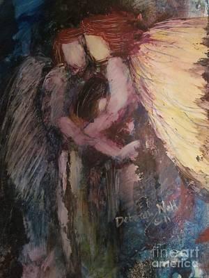 Angels Watching Over Me Art Print