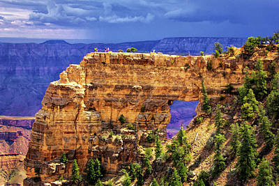 Photograph - Angels Window In Grand Canyon by Carolyn Derstine