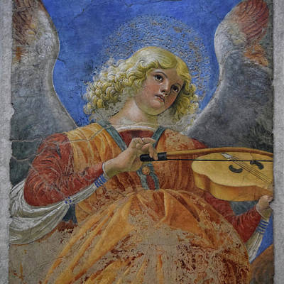 Mixed Media - Angelus by Gina Dsgn