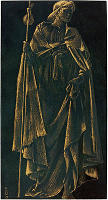 Painting - Angelus Ministrans by Sir Edward Coley Burne-Jones