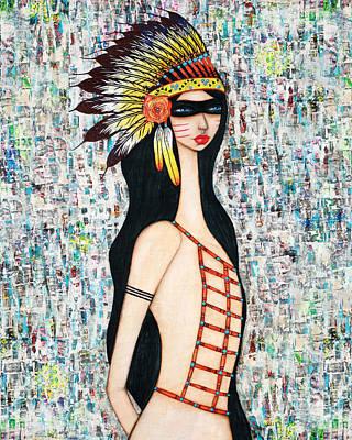 Angeni Art Print by Natalie Briney