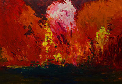 Painting - Anger by Gabi Dziok-Grubb