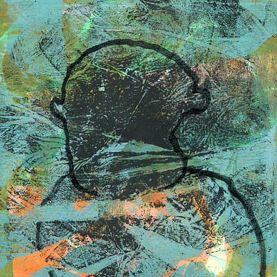Psychiatry Mixed Media - Anger Management Client by Catherine Redmayne