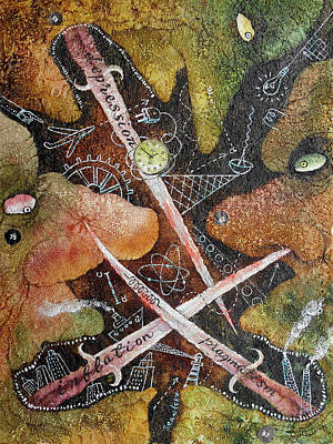 Anger Management Art Print