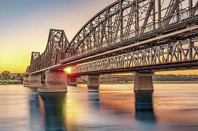 Photograph - Anghel Saligny Bridge by Mihai Andritoiu
