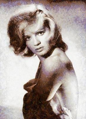 Angie Dickinson, Actress Art Print