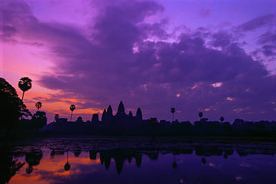 Photograph - Angkor At Sunrise by Ken Aaron