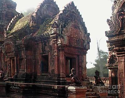 Angkor - Banteay Srei 3 Art Print