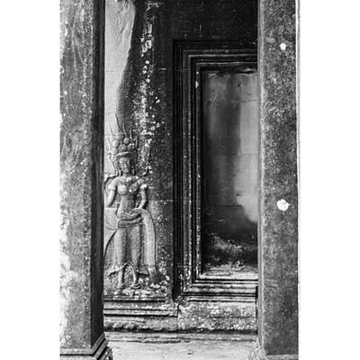 Architecturelovers Photograph - Angkor Carvings by Georgia Fowler