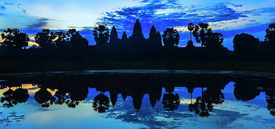 Rorschach Photograph - Angkor Dawn by Stephen Stookey