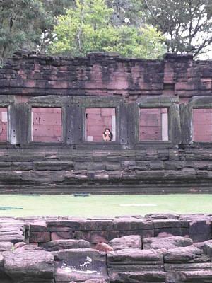 Angkor Daydream Art Print