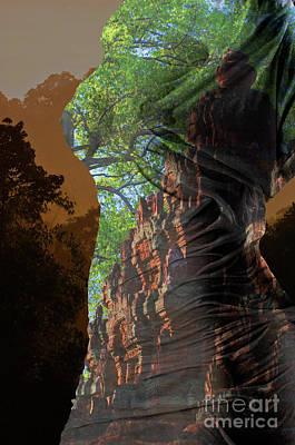 Photograph - Angkor Dreams 2 by Craig Lovell