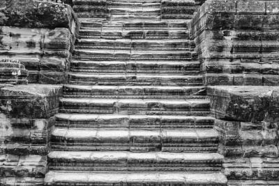 Photograph - Angkor Steps by Georgia Fowler