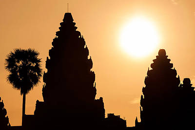 Photograph - Angkor Sunrise by Chris Deeney