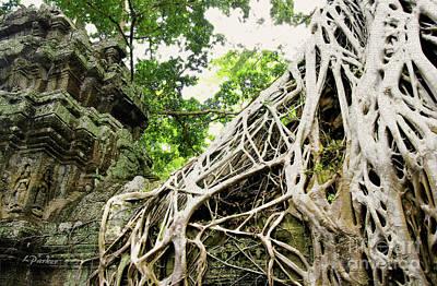 Angkor - Ta Prohm 2 Art Print