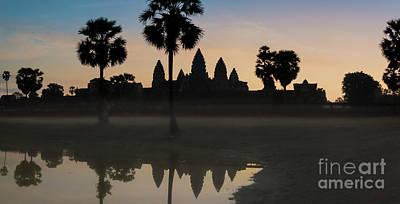 Photograph - Angkor Vat Sunrise by Martin Capek